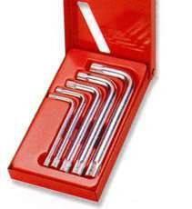 Набор угловых ключей Spline М-профиль, М5-М12, 5 предметов JONNESWAY (H15M105S), фото 2
