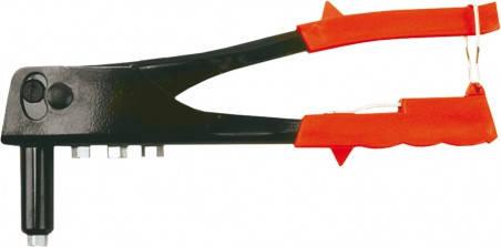 Заклепочник для заклепок алюмінієвих 2.4, 3.2, 4.0 (шт.) Top Tools (43E703), фото 2