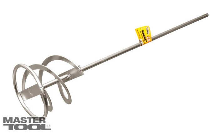 Миксер для красок и смесей SDS-Plus D 100 мм, L 600 мм Mastertool (80-0320), фото 2