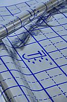 Пленка фольгированная с разметкой для теплого пола рулон 50 кв/м (55микрон)