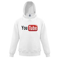 Детская толстовка  с логотипом YouTube