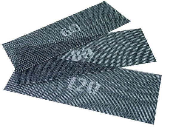 Сетка абразивная зерно 100 107*280 мм Mastertool (08-0210), фото 2