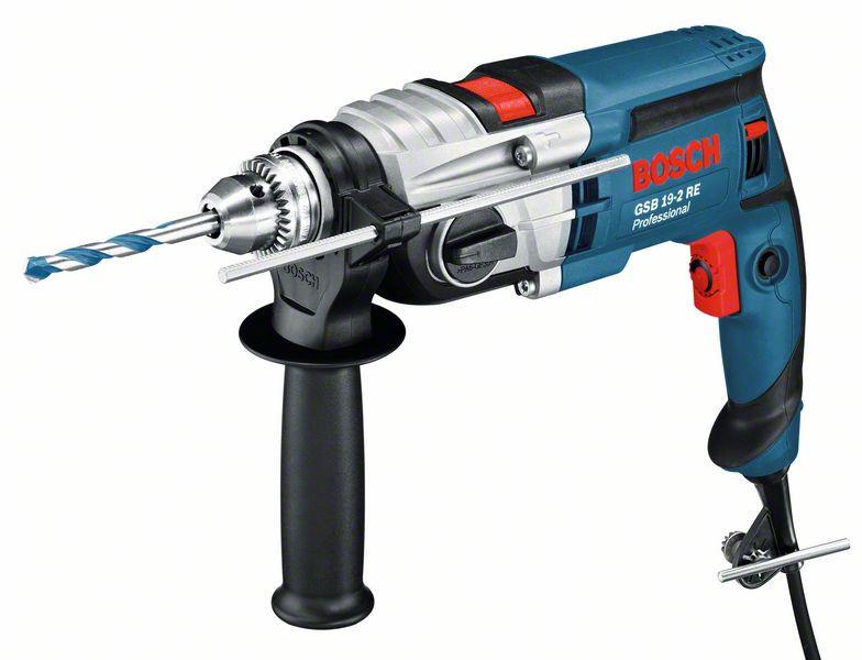 Дрель ударная Bosch GSB 19-2 RE (060117B600) Чемодан