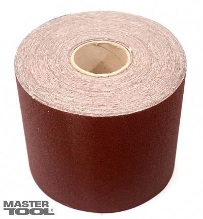 Шкурка наждачная зерно 100 200 мм*50 м Mastertool (08-2710), фото 2