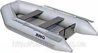 Моторная лодка с надувным настилом Бриг D265W