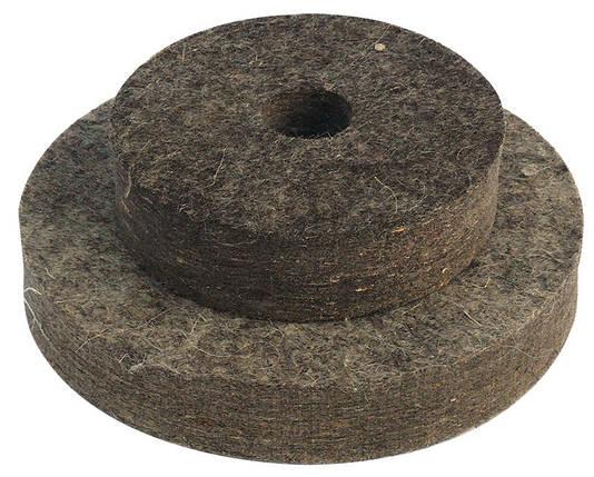 Круг войлочный жесткий 200 мм Mastertool (08-6020), фото 2