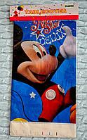 """Праздничная скатерть """"Микки Маус"""", размер 1,08*1,80 м"""