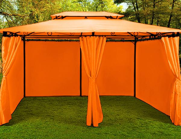Павильон садовый 3х4м., оранжевый , фото 1