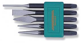 Набор кернов и зубил, 5 предметов JONNESWAY (M64105S)