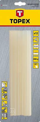 Стержні клеєві 11мм, 12 шт., білі (шт.) ТОРЕХ (42E172), фото 2