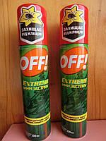 Офф спрей от комаров Аэрозоль  экстрим