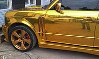 Хром пленка золото