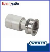 Wavin Муфта с накидной гайкой 20х3/4 НГ