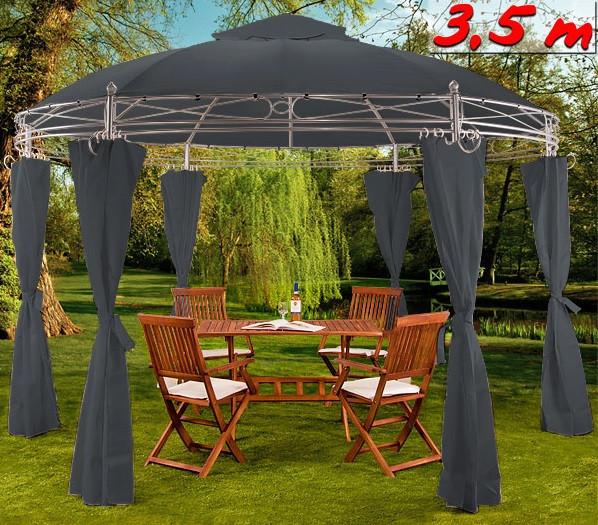 Садовый шатер - павильон 3,5м круглый