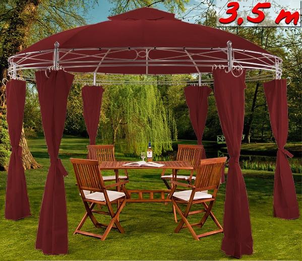Садовий павільйон шатер 3,5м круглий
