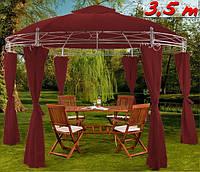 Садовий павільйон шатер 3,5м круглий, фото 1