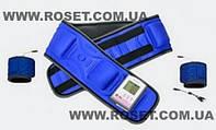 Вибро-магнитный пояс Pangao Waist Belt PG-2001 B3 с мини компьютером + 2 пояса для массажа рук и ног
