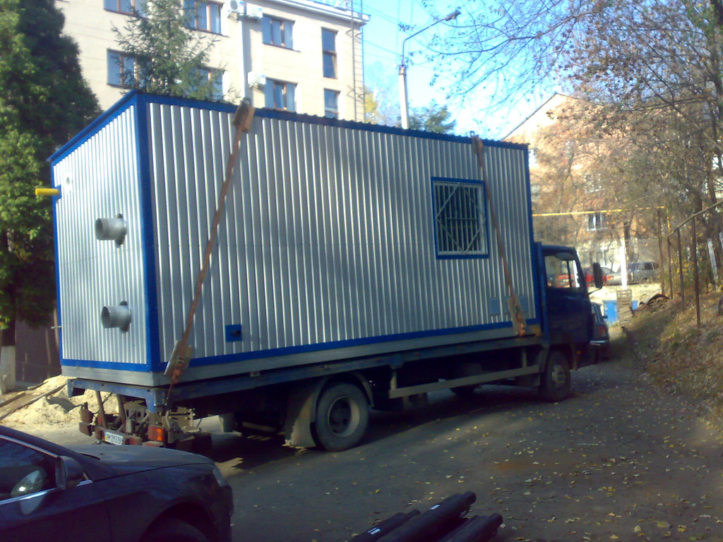 """Монтаж газової модульної котельні в готелі """"Буковина"""" 1"""