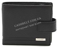 Кожаный стильный гладкий и прочный мужской кошелек LOUI VEARNER art. LOU092-027A черный