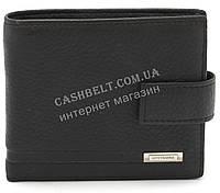 Кожаный стильный гладкий и прочный мужской кошелек LOUI VEARNER art. LOU092-591A черный, фото 1