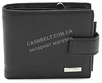 Кожаный стильный гладкий и прочный мужской кошелек с визитницей LOUI VEARNER art. LOU092-594A черный, фото 1