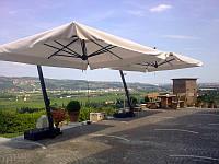 Зонт садовый Леонардо 3х4м. Зонты для летних площадок.