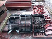 Подбарабанье зерновое Case 2166 (комплект 3шт)