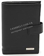 Кожаный стильный гладкий и прочный мужской кошелек портмоне LOUI VEARNER art. LOU092-102A черный