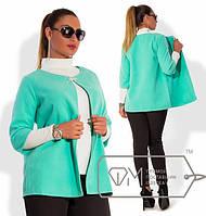 Кашемировый женский пиджак от 48р.
