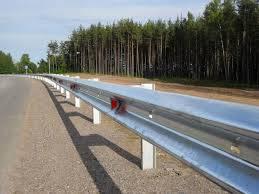 Дорожное барьерные ограждения