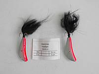 Бокоплав серебро черный хвост Вес:23г (упак. 5 шт)