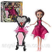 "Кукла ""Monster High"" в кор-ке №66525 (18) шарнир, туалетный стол, 28х28х6,5см"