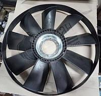 Крыльчатка вентилятора с обечайкой (704мм) выгнутая). 740.51-1308012 (21-051)
