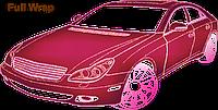 Полная оклейка легкового авто антигравийной пленкой