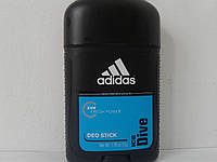 Tвердый мужской дезодорант Adidas Ice Dive (Адидас Айс Дайв)  53 мл.