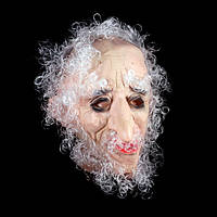 Маска «Кудрявый дедушка», силикон