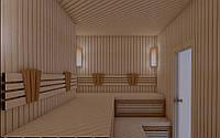Проектирование, дизайн и визуализация бани, сауны