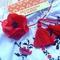 Заколка-цветок для девочки на волосы к любой прическе
