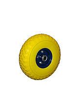 Колесо из пенополиуретана  4,00-4 ось 20 мм,400420