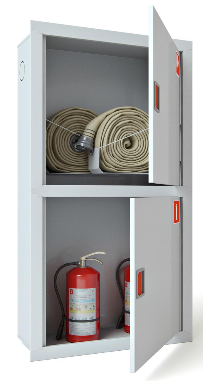 Шкаф пожарный ШПК-322 ВО встроенный без задней стенки 1600х600х230мм