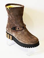 Ботинки бежевые Selesta 1688