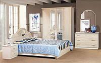 Спальня Милена 4Д роза (Світ Меблів TM)