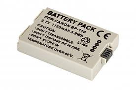 Аккумулятор CANON BP-110  Гарантия 1 год