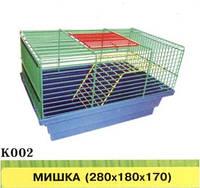 МЫШКА клетка для грызунов 280х180х170