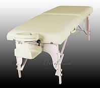 Двухсекционный массажный деревянный стол ART