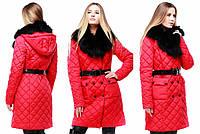 Женское зимнее пальто, отличное качество, хорошая цена, фабрика Харьков Айлин, р.44