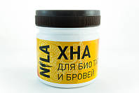 Nila Хна для бровей и  биотату коричневая, 100 г.