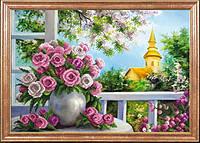 Розы на веранде МК КС-071