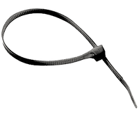 Хомуты кабельные RIGHT HAUSEN 150 х 2,5 мм черные HN-184022