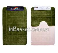 """Комплект ковриков для ванной """"Green point"""""""